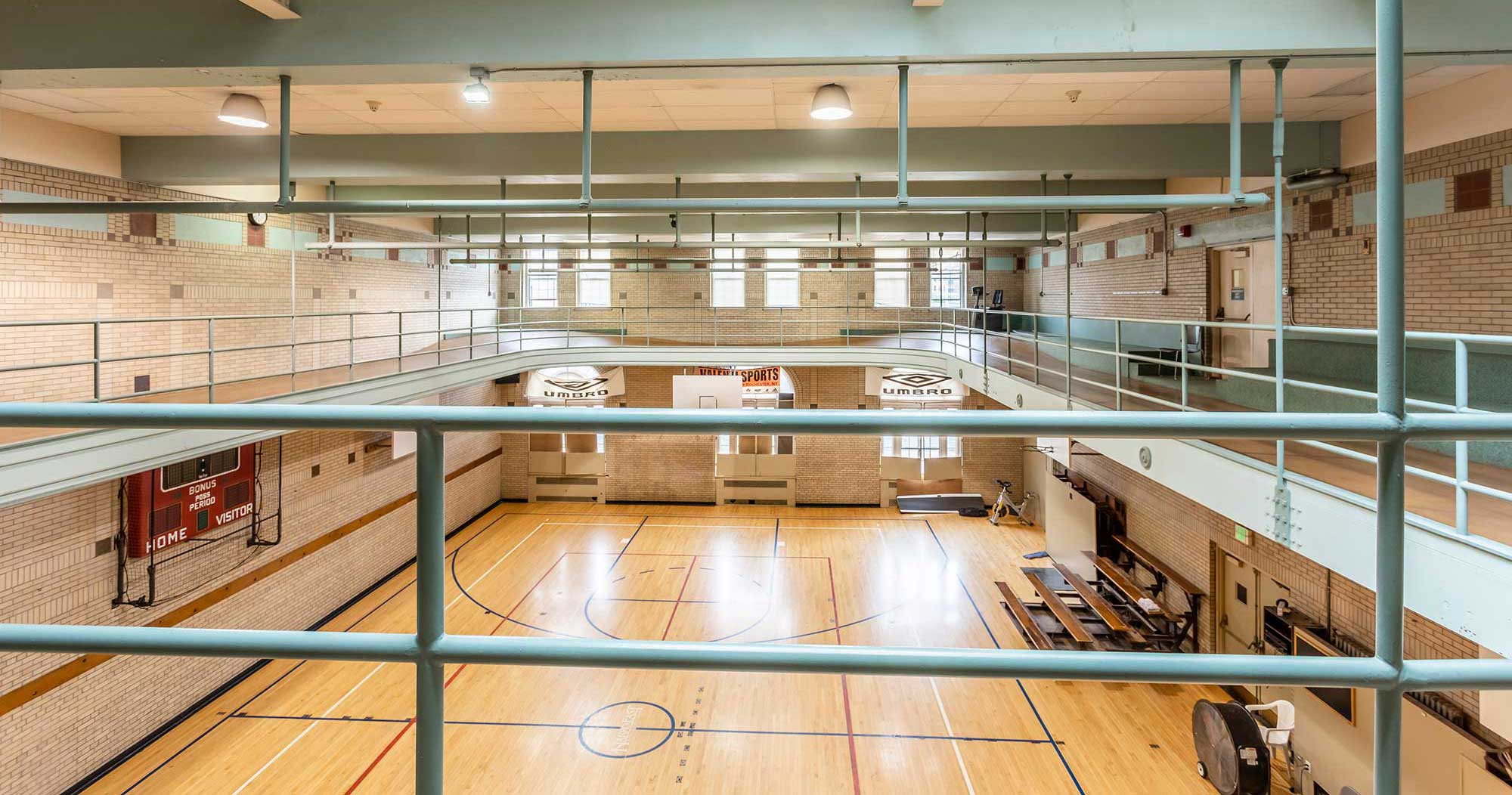Gymnasium at Harro East Ballroom