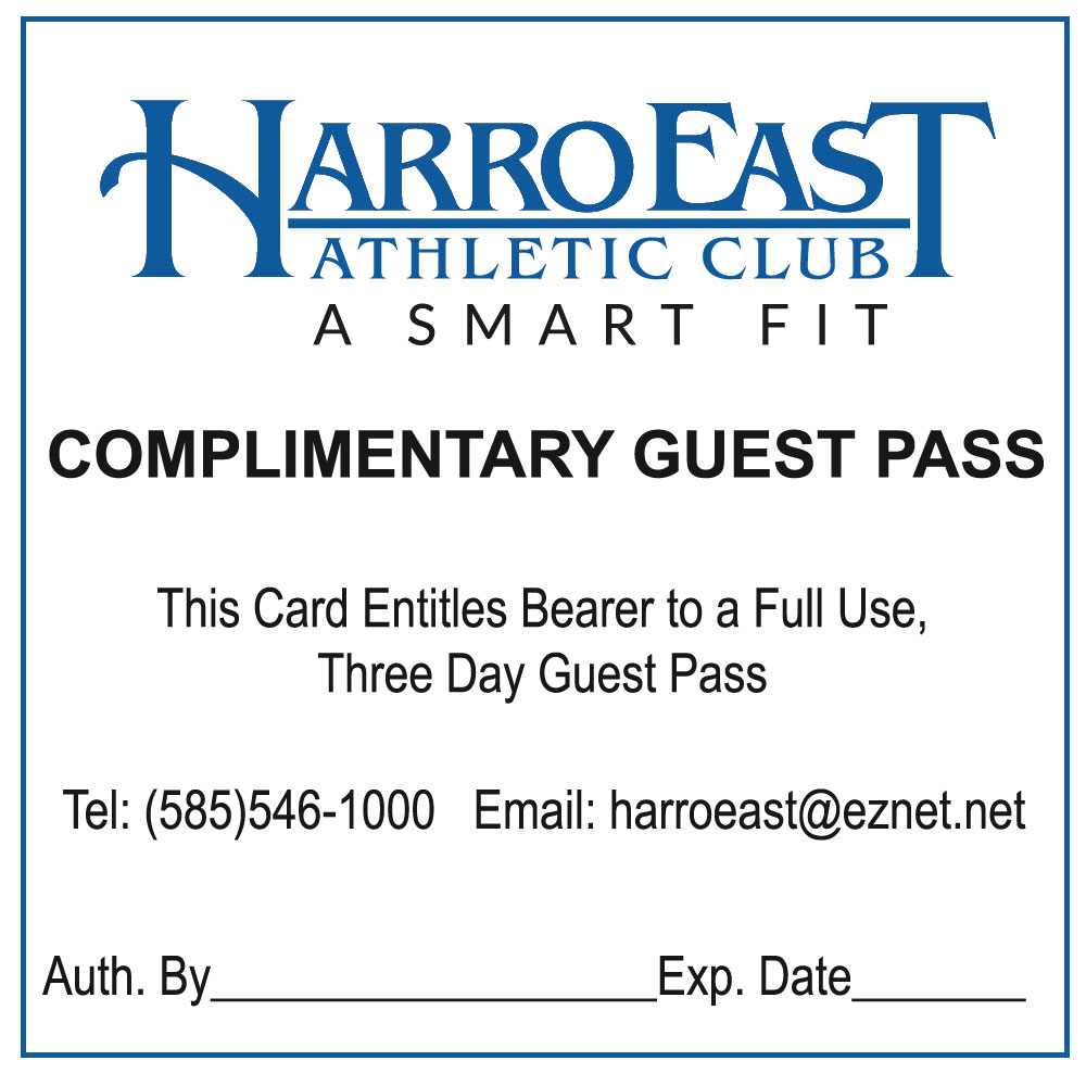 Free 3-Day Pass - Harro East Athletic Club